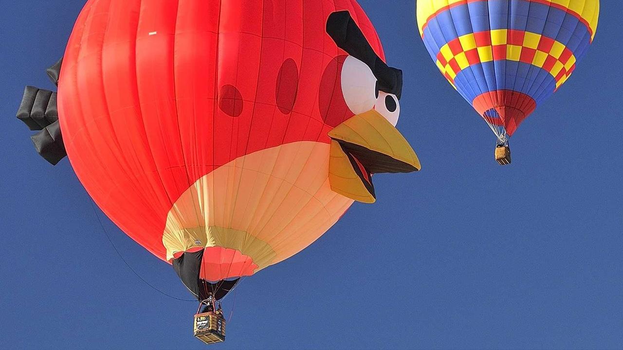 Balloon Festival Angry Birds