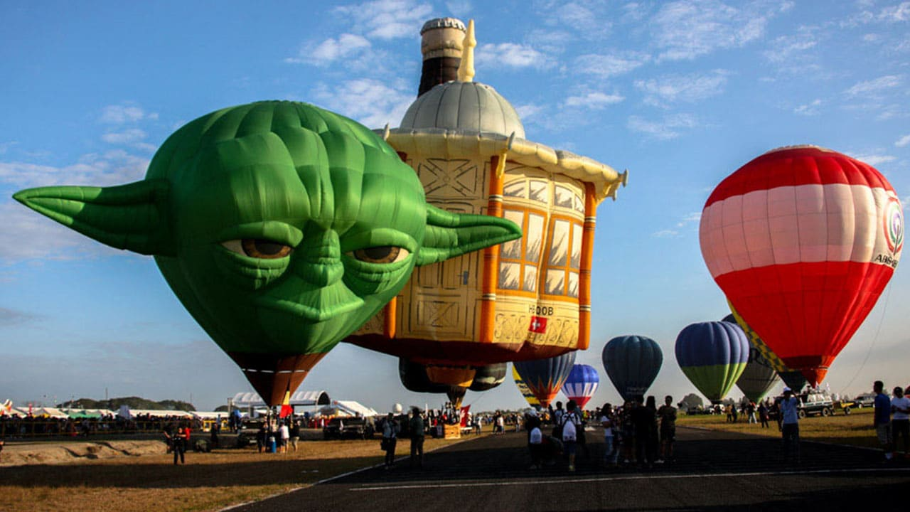 Balloon Festival Star Wars Yoda