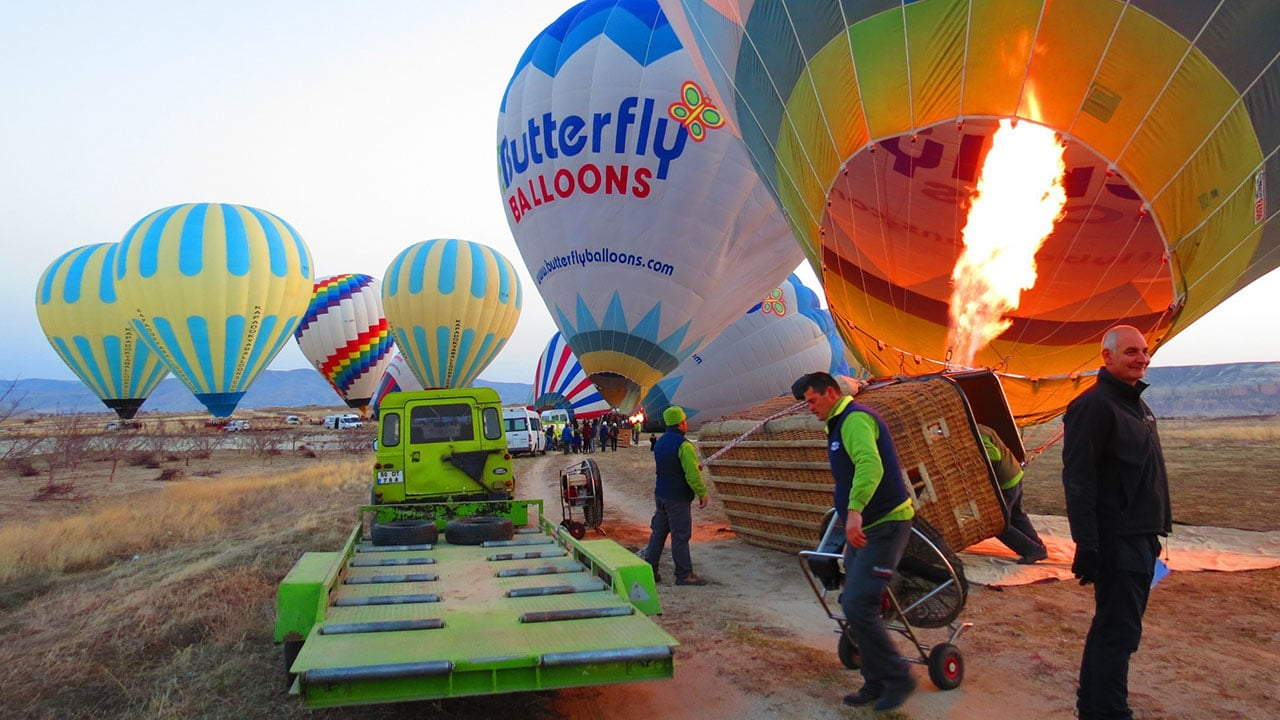 Cappadocia Balloon Trailer