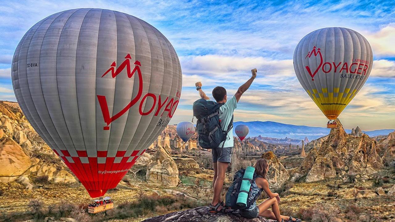 Cappadocia Balloons Tourists