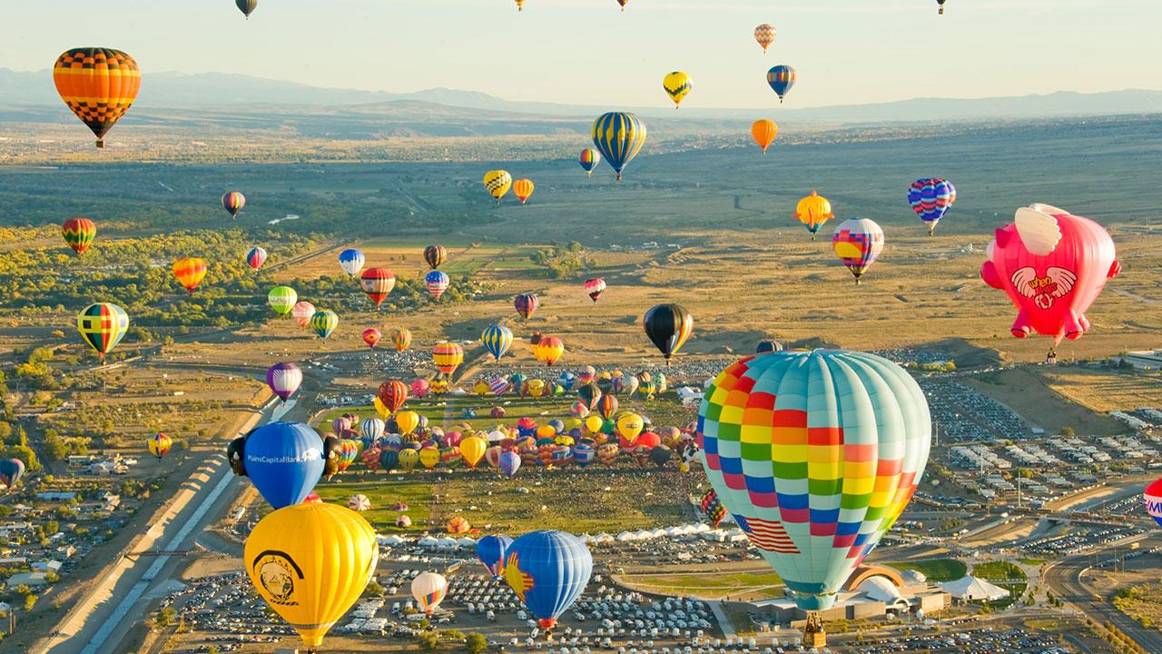 Hot Air Balloons Festival
